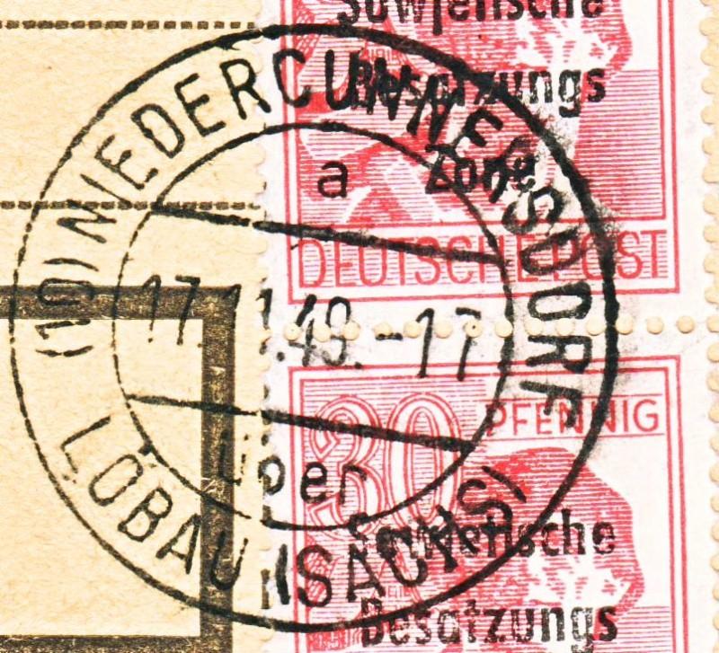 nach - Deutschland  -  Landpoststempel (Poststellenstempel) - Seite 2 Psr20010