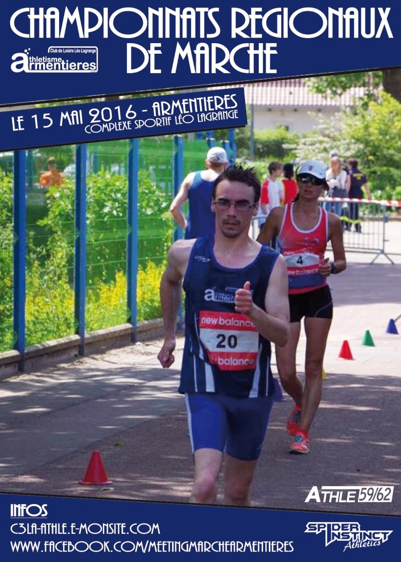 Régionaux de marche NPC - Armentières - 15 mai 2016 100x1410