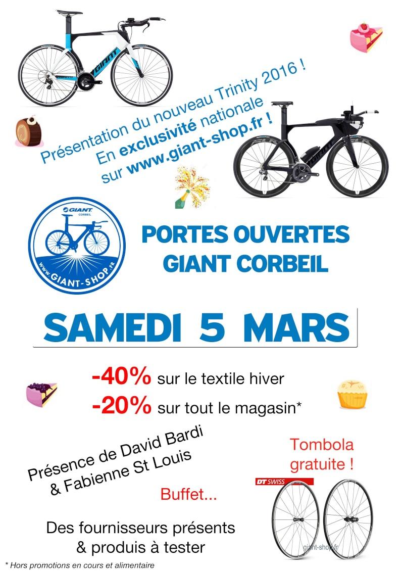 Portes ouvertes GIANT CORBEIL - 5 Mars Portes10