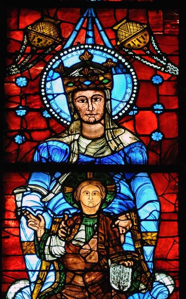 """Une recherche sur le magnifique """"bleu de Chartres"""". Nd_bel10"""