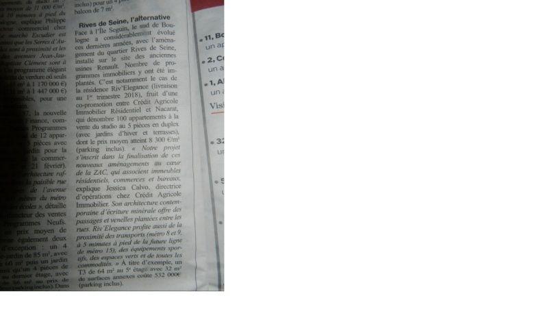 Informations sur Riv'Elégance Pjb11