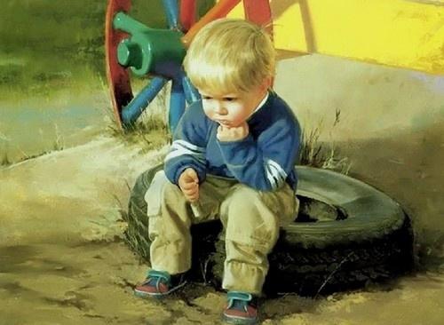 Petit, petit deviendra grand. L'enfance dans la peinture. Ob_fed10