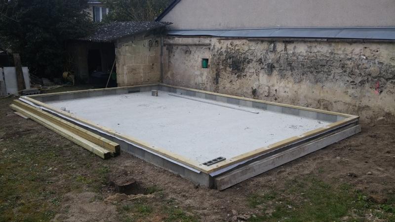 Construction d'un atelier en ossature bois ! - Le Bardage ! 20160311