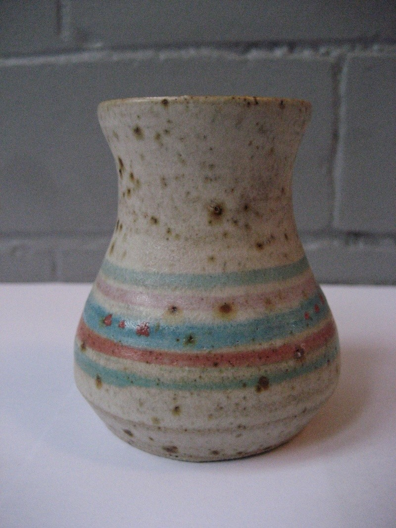 Small Vase Coloured Bands And Spots S.... And Something Stamp Img_1310