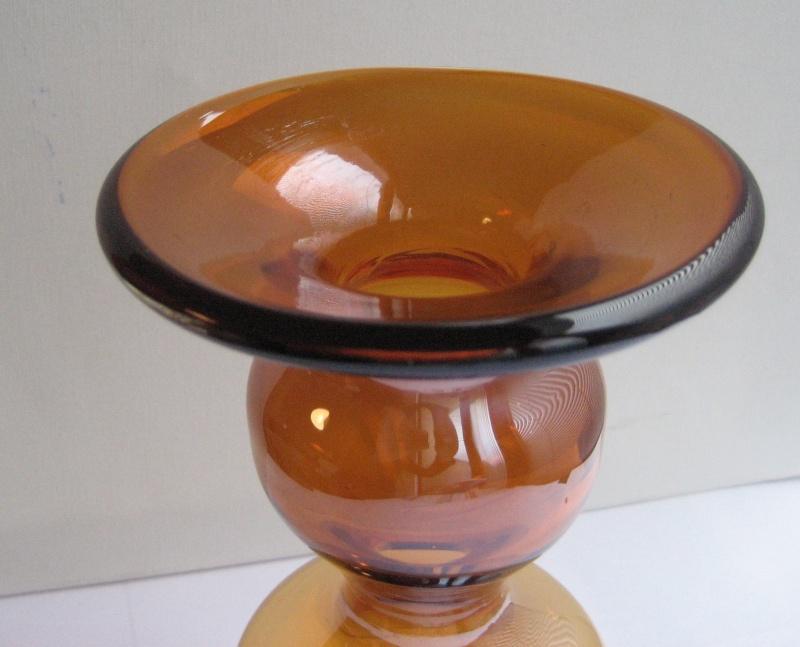 Honey Glass Vase. Is It Blenko? Img_2411