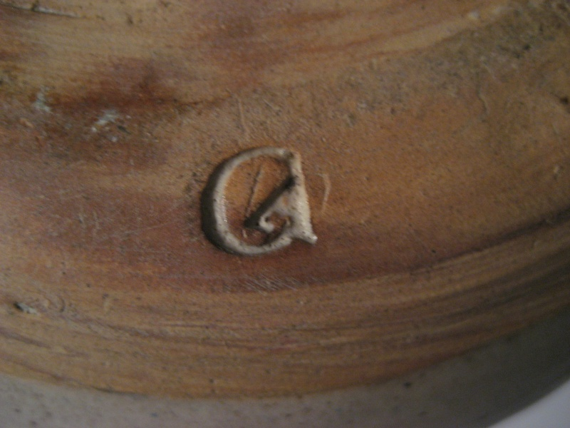 Pot With Lid, Repeating Pattern Circle Indentations and CA?  Img_2415