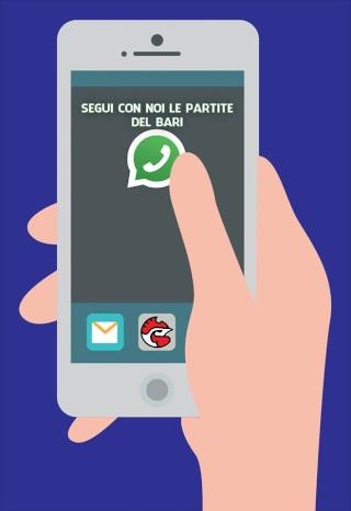Sempre più social: segui con noi la partita...su whatsapp!  12466110