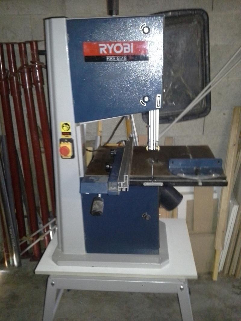 Scie à ruban RYOBI modele RBS-5518.  20160316