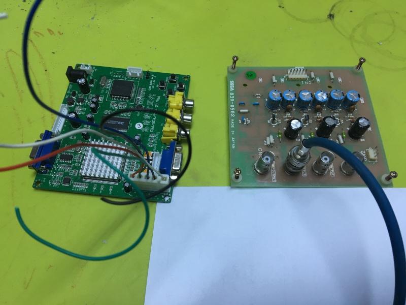 Branchement convecteur ega/cga video vers vga Img_5314