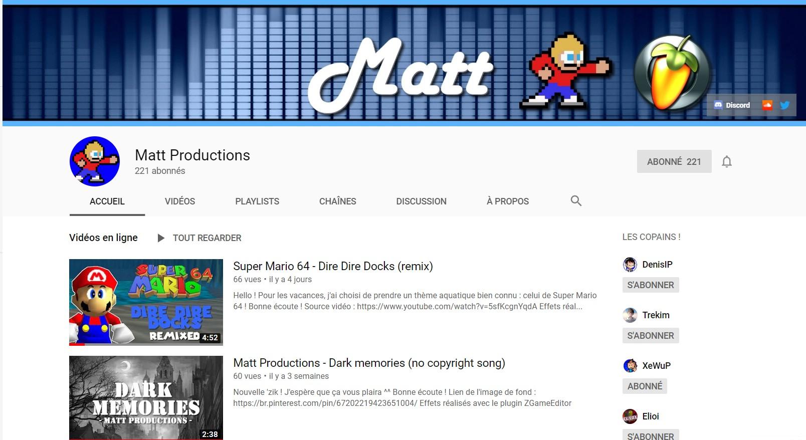 ★★★ Le Vidéaste à l'Honneur #28 | Matt | Venez critiquer cette chaîne ! Matt10