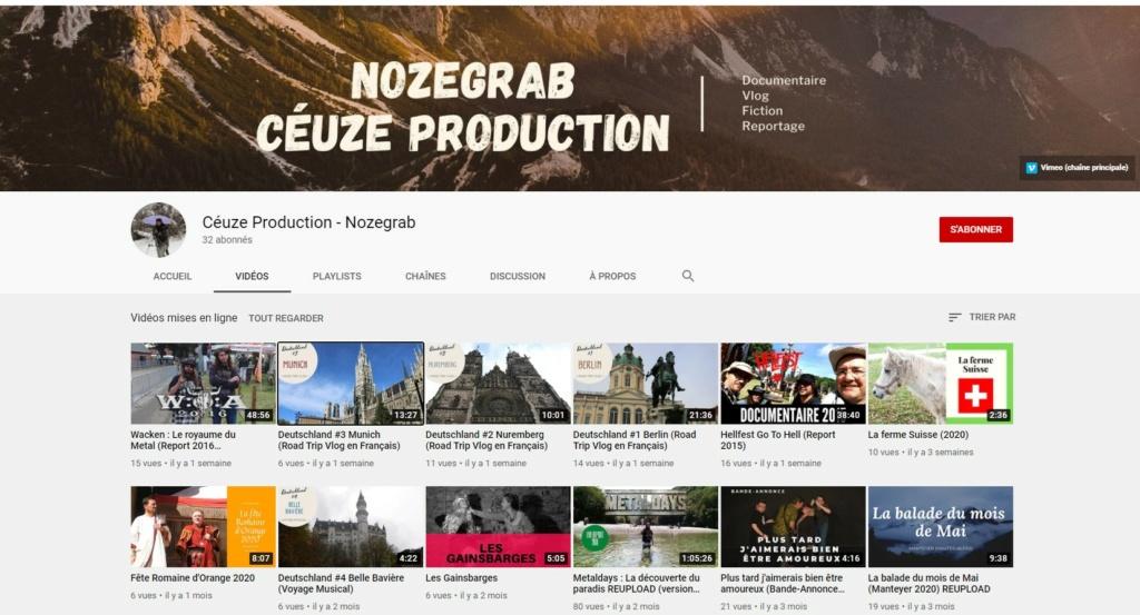 ★★★ Le Vidéaste à l'Honneur #56 | Nozegrab| Venez critiquer cette chaîne ! Nozegr11