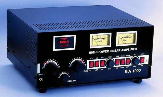 Ampli - RM KLV 1000 (Ampli pour station fixe) Amplif10