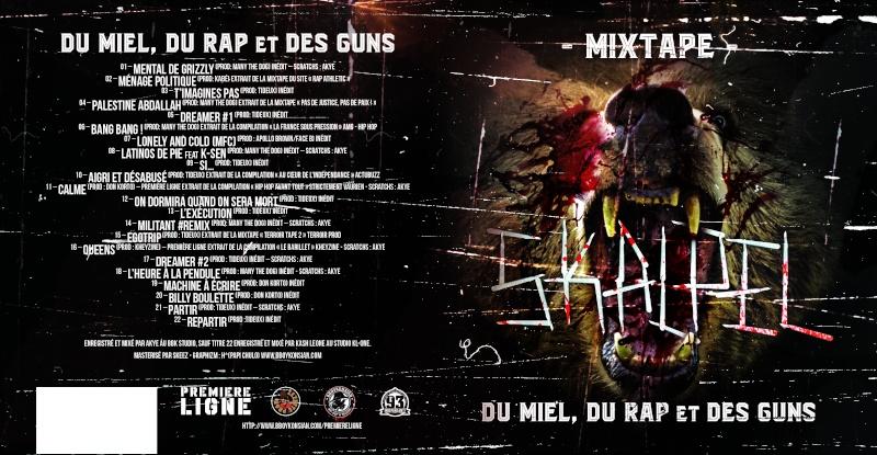 "Skalpel ""Du miel, du rap et des guns"" Mixtape - Avril 2016 Skalpe10"