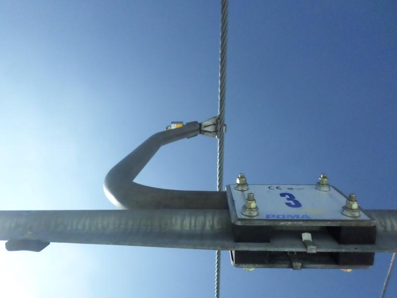 Télésiège fixe (TSF) 4 places de l'Orionde Gatea100