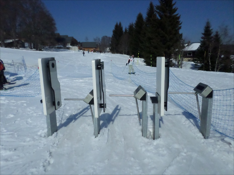 Télésiège fixe (TSF) 4 places de l'Orionde Gateau56