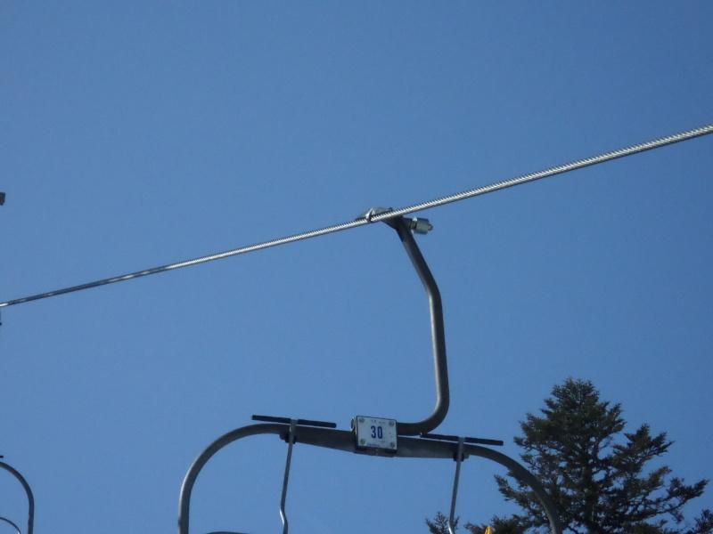 Télésiège fixe (TSF) 4 places de l'Orionde Gateau99