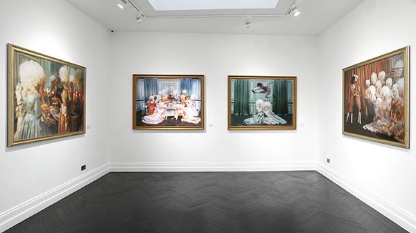"Marie-Antoinette dans la série ""Decadence"" Tylers10"