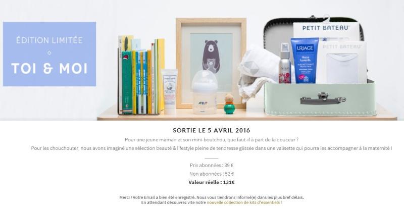 """Edition Limitée Birchbox """"Toi et Moi"""" pour maman / bébé Birchb10"""