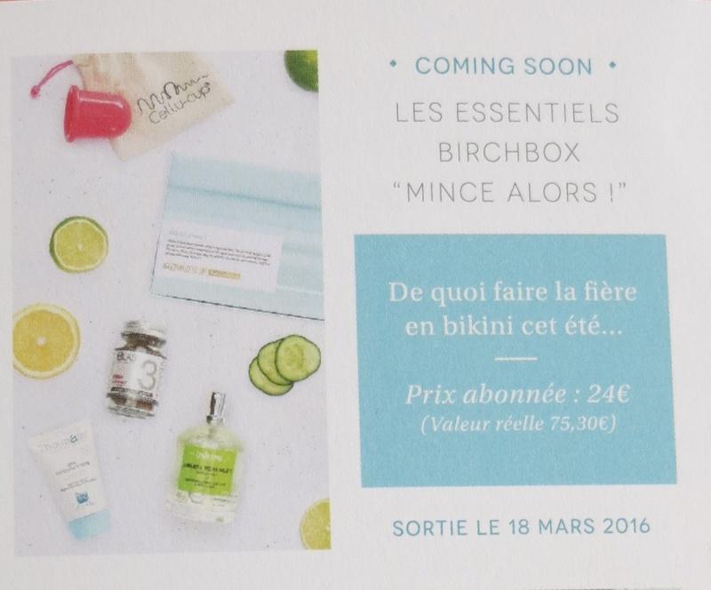 """Les Essentiels Birchbox édition """"Mince Alors"""" Img_8213"""