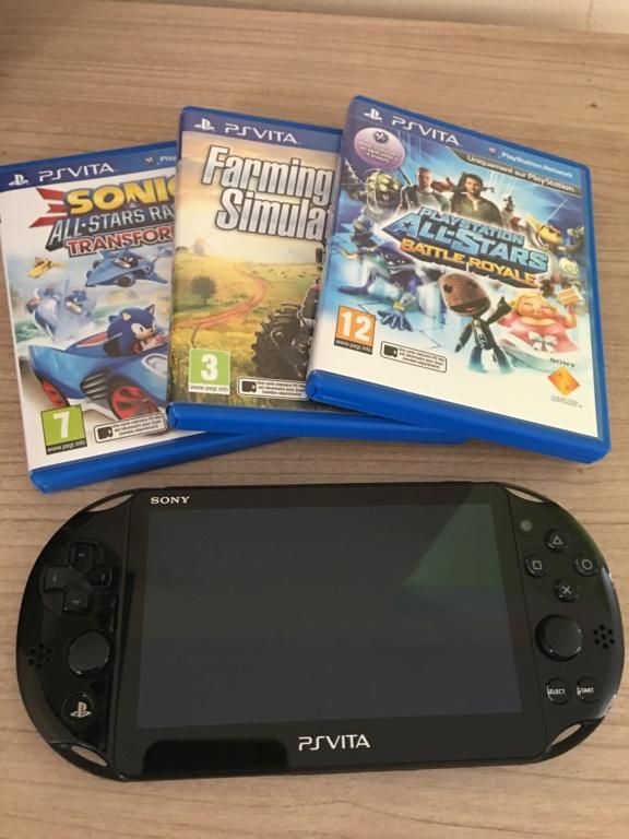 [VDS] Console PS Vita + 3 jeux 282e5410