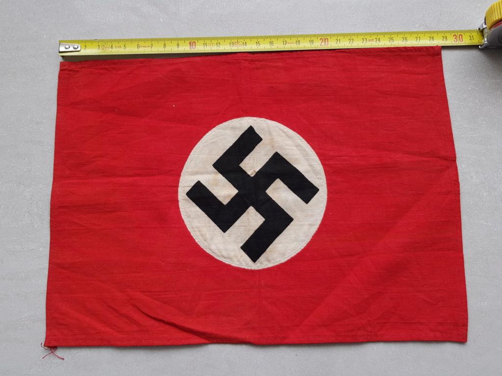 petit drapeau fanion allemand 28x21 20200612
