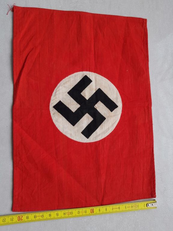 petit drapeau fanion allemand 28x21 20200613