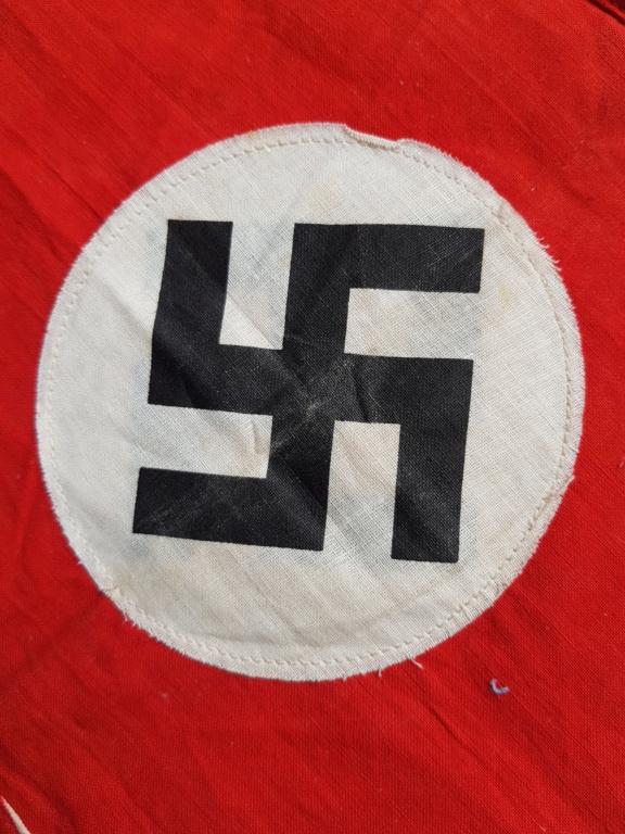 petit drapeau fanion allemand 28x21 20200615