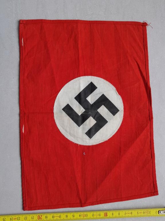 petit drapeau fanion allemand 28x21 20200616