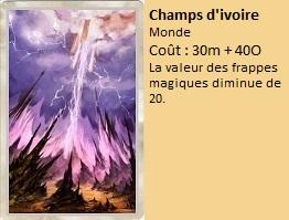 Liste des cartes Illusion Champs11