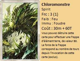 Liste des cartes Illusion Chloro10