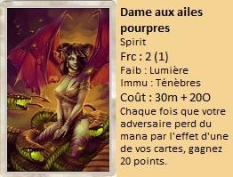 Liste des cartes Illusion Dame_a10