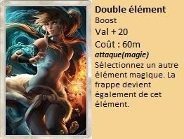Liste des cartes Illusion Double11