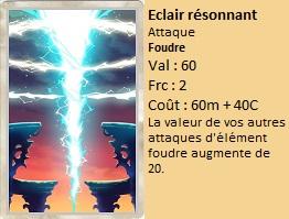 Liste des cartes Illusion Eclair10