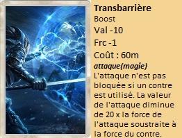 Liste des cartes Illusion Transb10