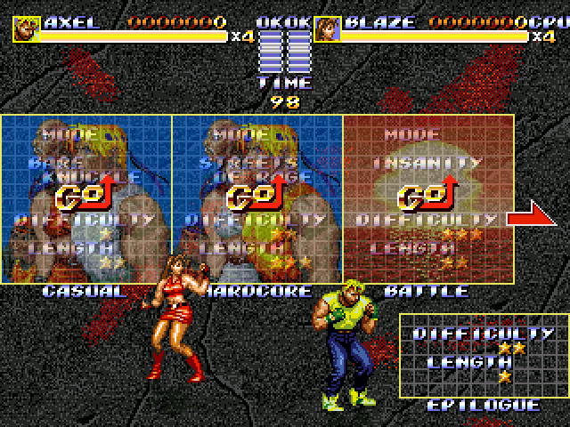 Streets of Rage 3 Ultimate Mod for V5 Mode_s10