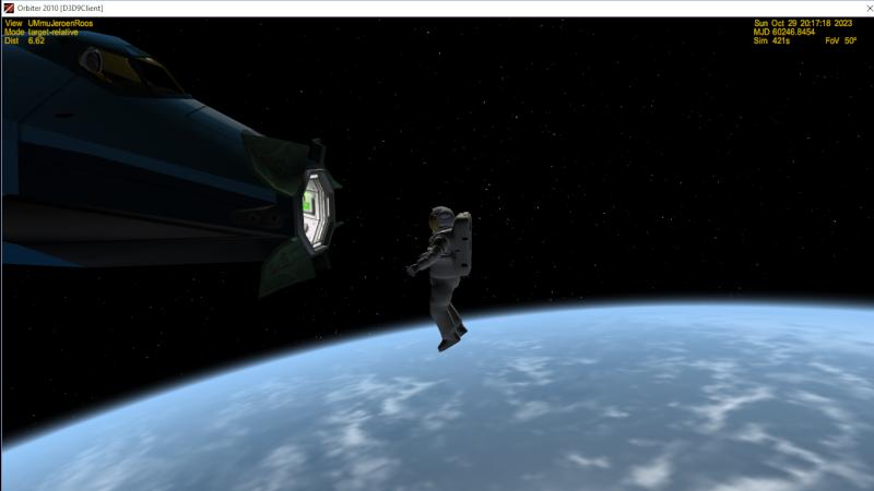 Crash durante lo svuotamento dell'Airlock Screen10