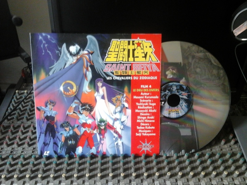 Saint Seiya laser disc 20160210
