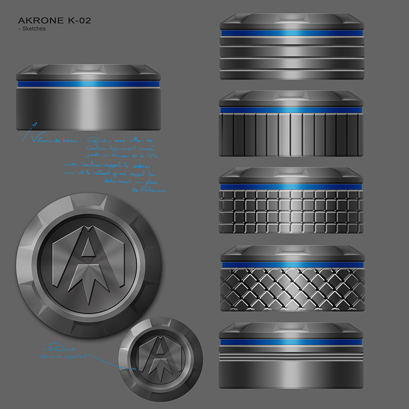 Akrone K-02 -Tome 2- on se rapproche des protos 07810