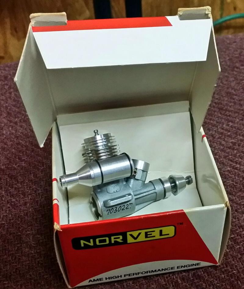 For Sale- NIB Norvel .049 w/ Muffler Nv10