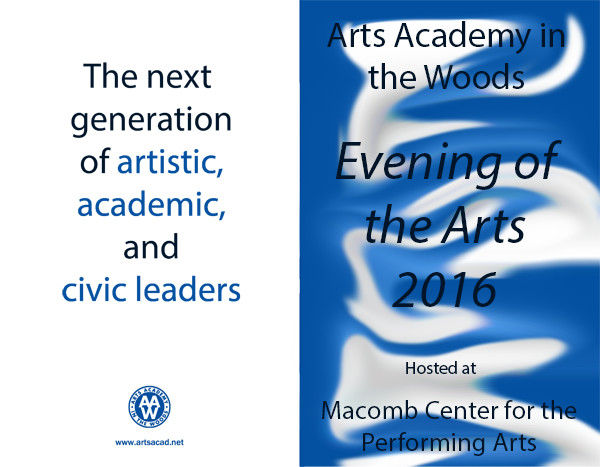 Assignment 8: (2nd, 5th and 6th hours): Evening of the Arts program cover due 3/23 Eota10