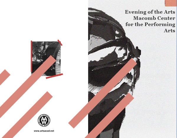 Assignment 8: (2nd, 5th and 6th hours): Evening of the Arts program cover due 3/23 Evenin11
