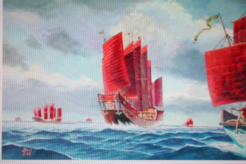 La Marine chinoise    La Chine avait tout inventée Img_5912