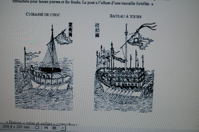 La Marine chinoise    La Chine avait tout inventée Photo_15