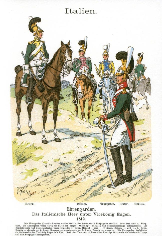 Projets en 28 mm : gardes d'Honneur italiens et gardes du Corps westphaliens - Page 3 Kntel_10