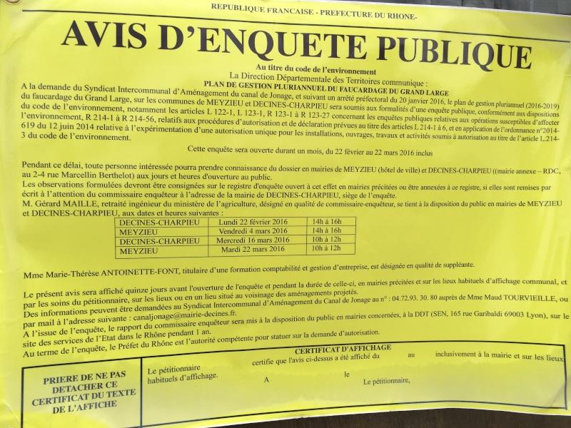 """GrandLarge // Enquête publique """"Faucardage"""" 22.02 > 22.03.16 20160210"""