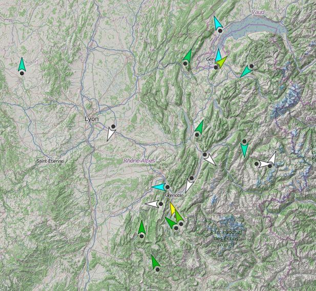 TOP => Balises météo PIOU-PIOU en région Captur10