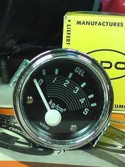 mano VDO pression huile 6V Mano10