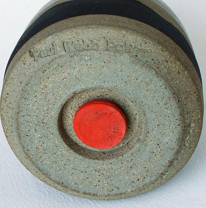 Vase - Paul Webb or Rick Fletcher, Wales? 2016-011