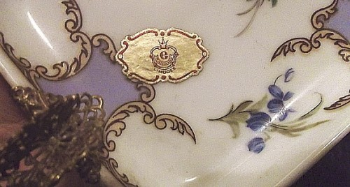 limoges ashtray Waterm18