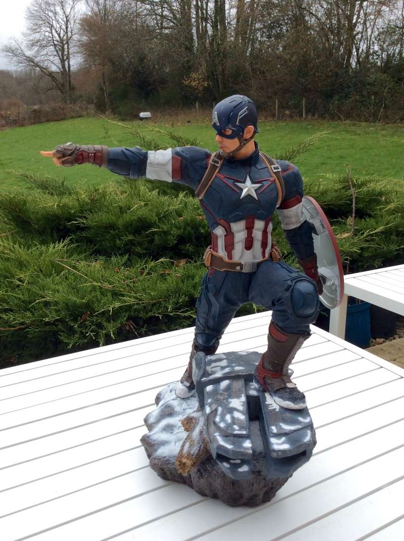 IRON STUDIOS: CAPTAIN AMERICA AVENGERS AGE OF ULTRON LEGACY 1/4 SCALE - Page 7 Image10